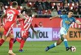 """Karaliaus taurės aštuntfinalio pirmajame susitikime – """"Girona"""" ir """"Atletico"""" lygiosios"""