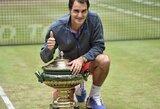 R.Federeris laimėjo 8-ąjį trofėjų Halle turnyre