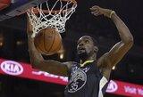 """19 taškų deficitą panaikinusi """"Warriors"""" paskutinėmis sekundėmis palaužė """"Heat"""""""