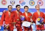 Europos sambo čempionate vienintelį medalį Lietuvai iškovojo G.Katkus