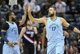 Tarp gražiausių NBA dienos epizodų – galingas J.Valančiūno dėjimas