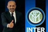 """Oficialu: L.Spalletti tapo """"Inter"""" treneriu"""