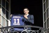 """A.Di Maria: """"Mane norėjo parduoti, Mančesteris – jau praeitis"""""""