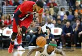 NBA dienos momentų viršūnėje – netipinis epizodas