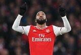 """A.Lacazette'as 96-ąją minutę išplėšė """"Arsenal"""" lygiąsias su """"Southampton"""""""