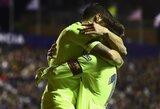 """Ispanijoje – L.Messi """"hat-trickas"""" ir triuškinama """"Barcelona"""" ekipos pergalė"""