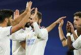 """M.Asensio pelnė """"hat-tricką"""", o """"Real"""" iškovojo vietiniame čempionate triuškinamą pergalę"""