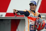M.Marquezas genialiu sprendimu sutriuškino varžovus Čekijos GP lenktynėse