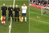 Pamatykite: pašėlęs jaunasis sirgalius Anglijoje sukėlė džiaugsmo audrą stadione
