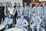 Lietuvos vyrų futbolo rinktinė susirinko į stovyklą