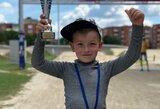 Lietuvos BMX čempionato auksas – G.Pabijanskui ir G.Usevičiui, varžybose debiutavo S.Krupeckaitės sūnus