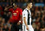 """""""Juventus"""" ir """"Man Utd"""" ruošia bombą: P.Pogba ir C.Ronaldo mainus?"""