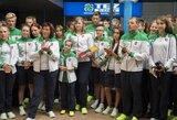 Į Europos jaunimo olimpinį festivalį išlydėta Lietuvos rinktinė