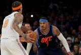 """""""Knicks"""" sugadino C.Anthony sugrįžimą"""