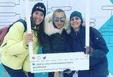 Lietuvės Gruzijoje iškopė į Europos sniego tinklinio turo pusfinalį