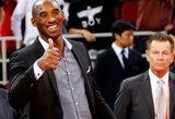 K.Bryantas praleis NBA sezono pradžią