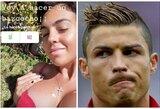 """C.Ronaldo sužadėtinė sudrebino """"Instagram'ą"""": pasidalijo itin atvira nuotrauka"""