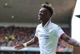 """""""Chelsea"""" jaunasis puolėjas T.Abrahamas ateityje neatmeta galimybės atstovauti Nigerijos rinktinei"""