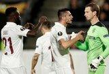 Europos lyga: dešimtyje rungtyniauti likęs G.Arlauskio klubas iškovojo pergalę