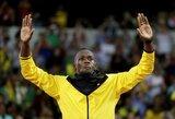 "U.Boltas treniruojasi su Norvegijos ""Stromsgodset"" klubu"