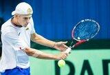 L.Mugevičius Ukrainoje papildė savo ATP vienetų reitingo taškų kraitį