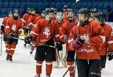 Lietuvos U-16 ledo ritulio rinktinė sužaidė dvi skirtingas rungtynes su lenkais