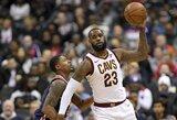 Tarp NBA dienos epizodų – varžovo nesustabdęs D.Sabonis ir L.Jameso perdavimas