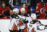 """Nei karto nepralaimėję """"Antinai"""" pirmieji perlipo pirmą NHL atkrintamųjų varžybų etapą"""