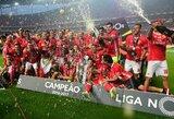 """Nesustabdomi: """"Benfica"""" ketvirtą kartą iš eilės tapo Portugalijos čempionais"""