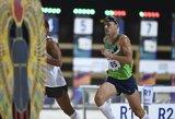 J.Kinderis ir L.Batulevičiūtė pasaulio čempionate pateko į geriausiųjų dešimtuką