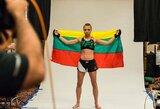 Svajonės išsipildymas: R.Namajunas kovos dėl UFC pasaulio čempionės diržo!