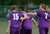 Moterų A futbolo lygoje - keturi R.Bložytės įvarčiai