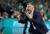 """Š.Jasikevičius: """"Vasarą mano mėgstamiausia sporto šaka yra gulėjimas pliaže"""""""