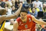 """K.Simono benefisas lemiamomis minutėmis pražudė """"Maccabi"""" (statistika)"""