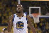 """Nesportinę pražangą gavęs K.Durantas: """"Štai kodėl lyga vadinama """"minkšta"""""""