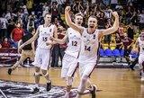 Europos U-18 čempionatas: latviai išplėšė dramatišką pergalę prieš turkus ir iškovojo kelialapį į ketvirtfinalį