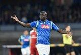 """K.Koulibaly: """"Kas laimės """"Serie A""""? Žinoma, kad """"Napoli"""""""