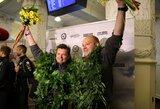 A.Juknevičius į Lietuvą grįžo su šypsena ir kupinas naujų idėjų