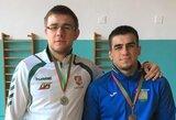 L.Krasauskas liko per vieną pergalę nuo pasaulio jaunimo imtynių čempionato mažojo finalo