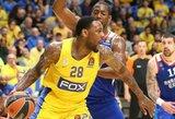 """""""Maccabi"""" savų žiūrovų akivaizdoje neatsilaikė prieš V.Micičiaus vedamą """"Anadolu Efes"""""""