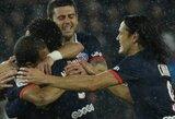 Užtikrintą pergalę PSG pasiekė ir be Z.Ibrahimovičiaus