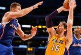 """""""Lakers"""" ir """"Cavaliers"""" artėja prie susitarimo dėl A.Bynumo ir P.Gasolio mainų"""