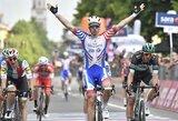 """I.Konovalovo komandos draugas pagaliau laimėjo """"Giro d'Italia"""" etapą"""