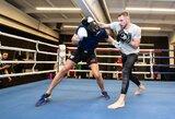 Titanų mūšis: S.Maslobojevas ringe susitiko su šalies bokso čempionais