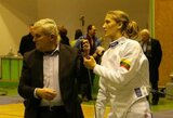 Pasaulio fechtavimo taurės etape geriausiai tarp lietuvių pasirodė P.Bajorūnaitė