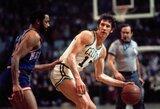 Mirė NBA legenda J.Havlicekas