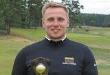 Tryliktajame Lietuvos golfo čempionate triumfavo M.Vaičius ir G.B.Starkutė