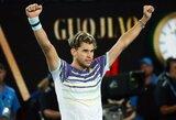 """""""Australian Open"""" pusfinalyje – užgesusios šviesos ir D.Thiemo pergalė"""