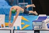 Lietuvos plaukimo čempionate trūksta tik R.Meilutytės