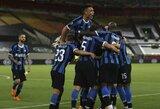 """Triuškinamą pergalę iškovojęs """"Inter"""" užtikrintai žengė į Europos lygos finalą"""